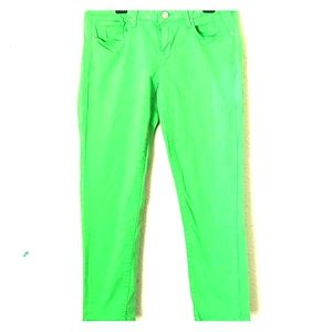 Aeropostale Women's lime jeans
